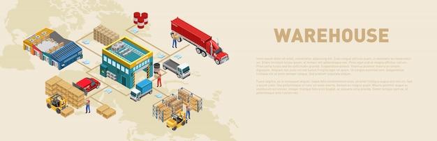 Scheme of work in warehouse