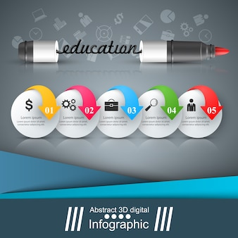 School board - vector illustration. School and education.
