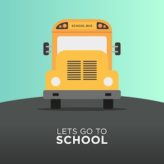 School bus transportation back to school