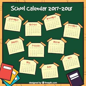 学校のカレンダー
