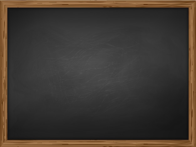 School chalkboard background texture with frame