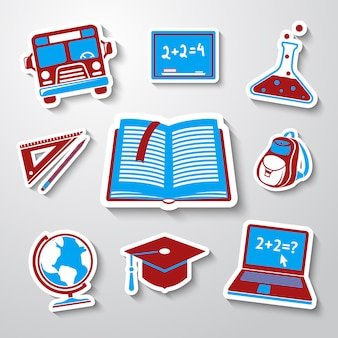 School, education sticker