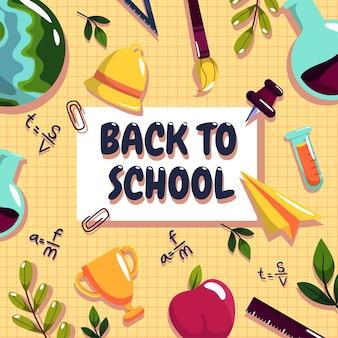 La scuola ha aperto il semestre. gli studenti sono tornati a studiare materie come arte, sport, matematica e scienze.
