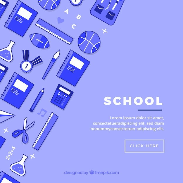 Free School icons background SVG DXF EPS PNG - Cut File
