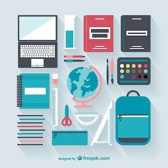 School materials elements