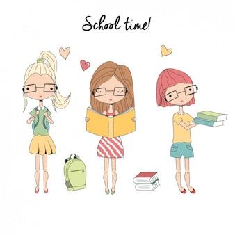 学校時代背景