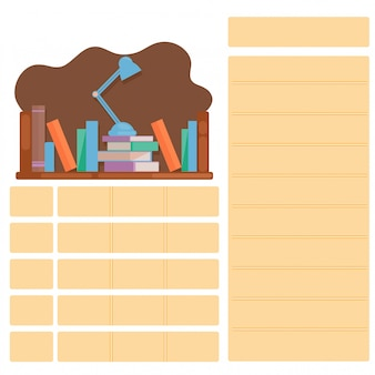 School timetable for back to school