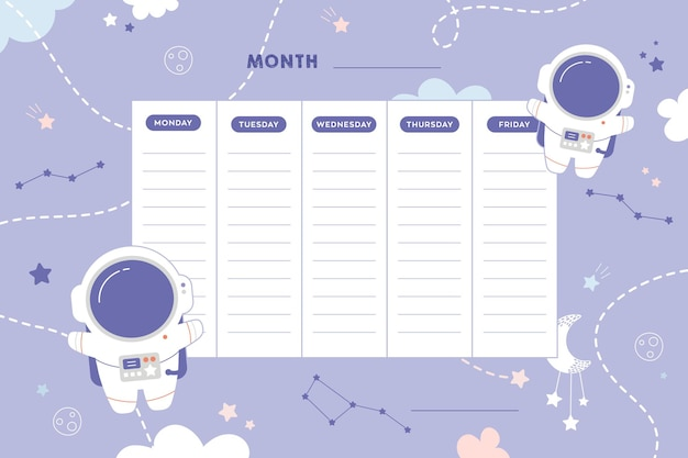 Школьное расписание школьные уроки