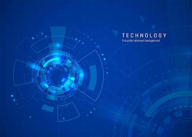 Sci fi cyberspace abstract technology background