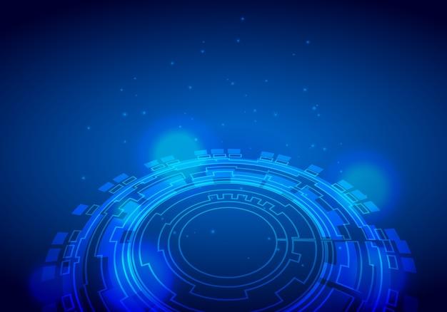 Sci-fi futuristic crosshair