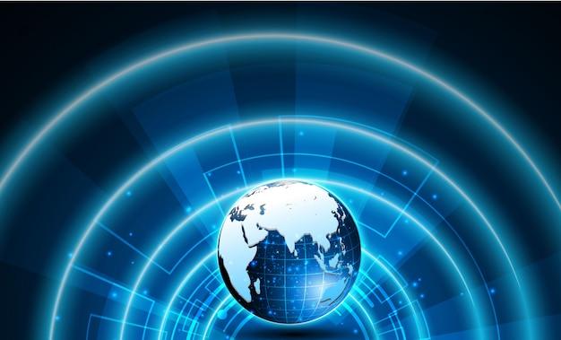 공상 과학 사이버 미래 디자인