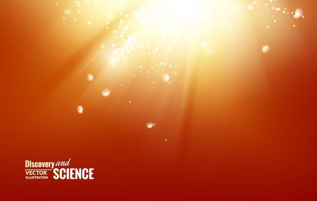 Fondo astratto di scienza.