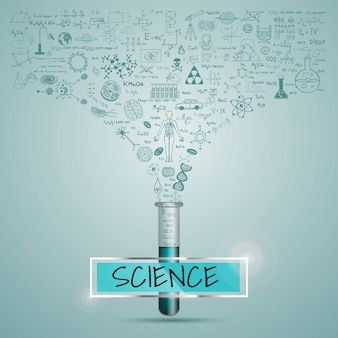 Science background design