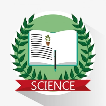 Science biology book learn school