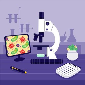 현미경으로 과학 개념