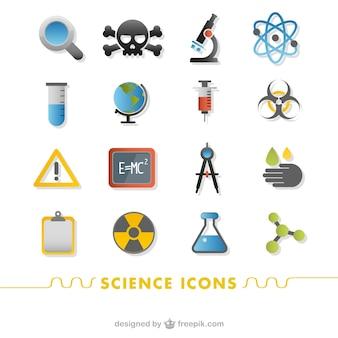 과학 아이콘 세트