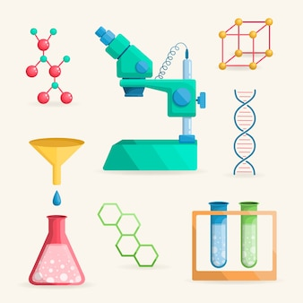 Science lab objects