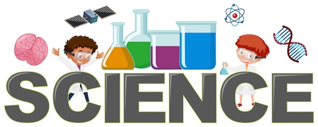 Science logo with element
