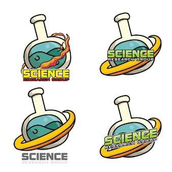Science organization logo icon