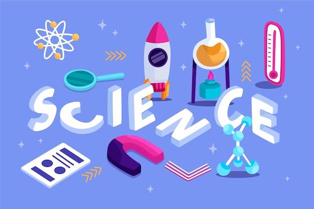 等尺性の科学単語概念