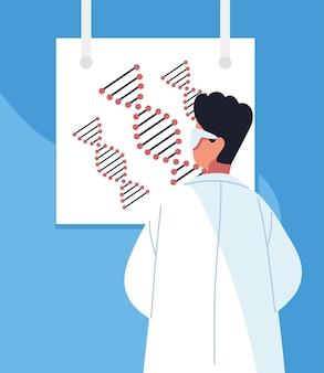 Scientific male genetic engineering science
