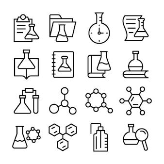 Scientific research line  pack