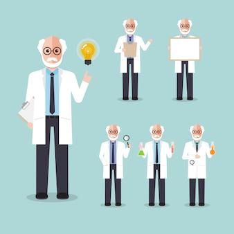 Scientist professor.