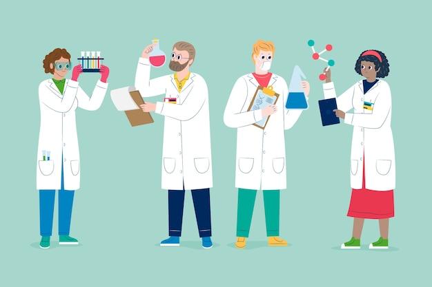 과학자 근무