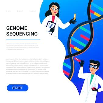 나노 기술 또는 생화학 실험실에서 일하는 과학자
