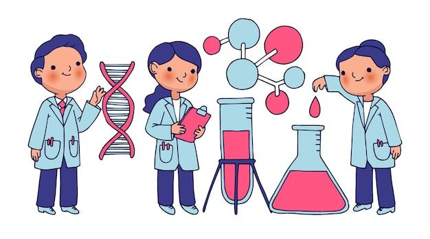 Ученые работают