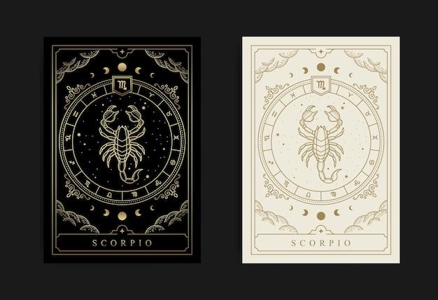 Scorpio horoscope and zodiac symbol