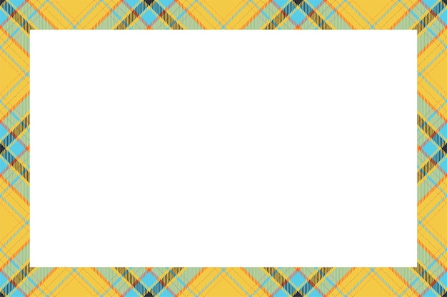 Scottish border pattern retro style.