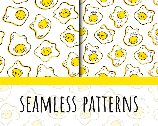 Scrambled eggs pattern