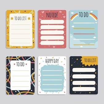 스크랩북 메모 및 카드