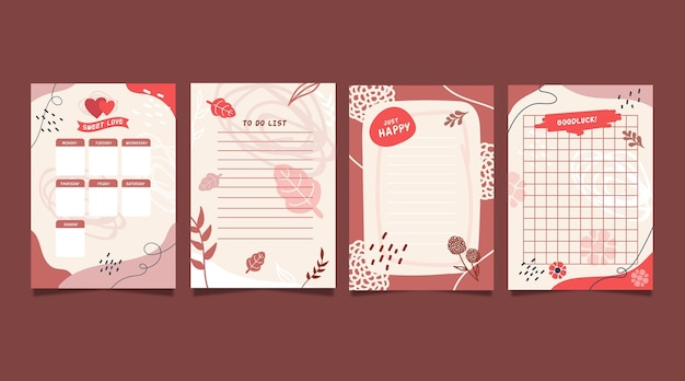 Scrapbook notes & cards collection