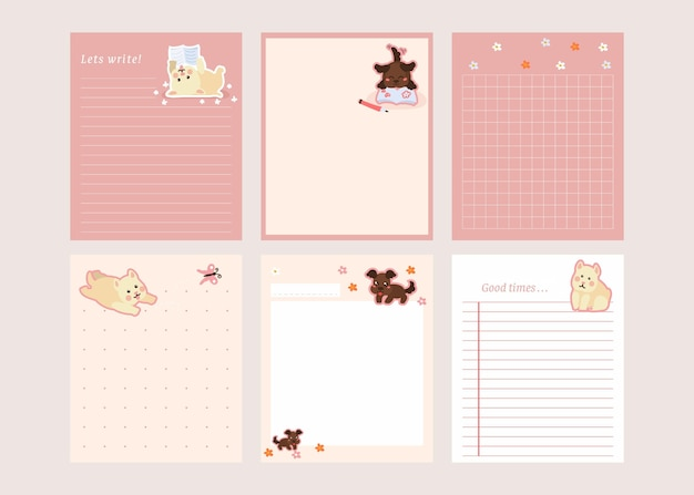 Scrapbook notes and cards