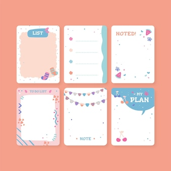 Scrapbook notes & cards