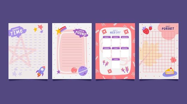 Заметки и открытки из альбома для вырезок