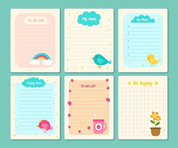 스크랩북 노트 및 카드