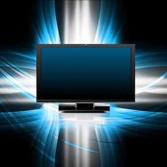 Screen on modern background
