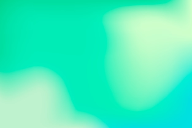 Screensaver in green gradient tones