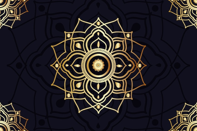 Screensaver with mandala design