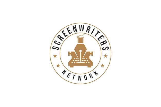 Screenwriter logo design