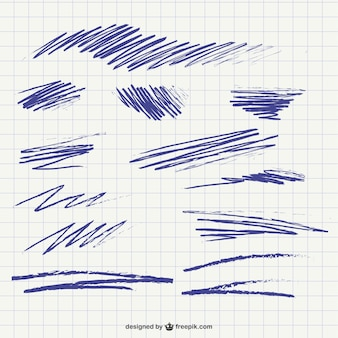 Scribbles and traces pack
