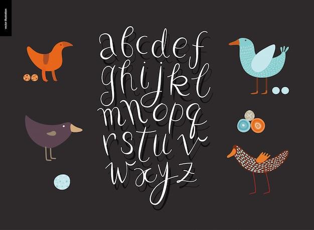 Script alphabet volume 5