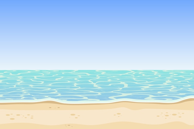 海とビーチの背景