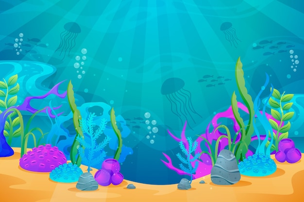 Under the sea background for conferencing