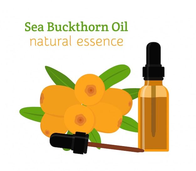 Sea buckthorn natural oil