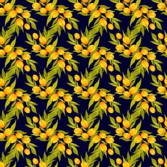シーバソーンシームレスベクトルパターン