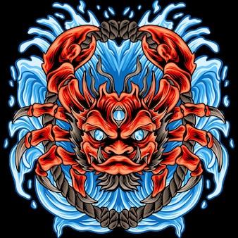 The sea crab